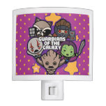 Kawaii Guardians of the Galaxy Star Graphic Night Light