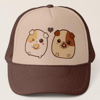 Kawaii guinea pigs trucker hat