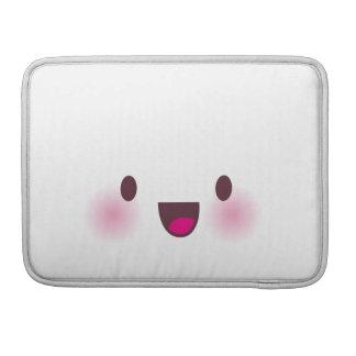 Kawaii hace frente funda para macbooks