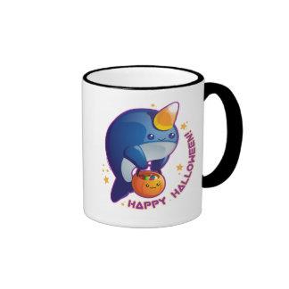 Kawaii Halloween Narwhal Coffee Mugs