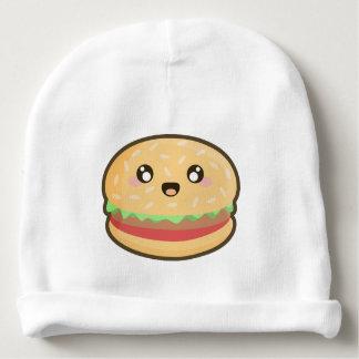Kawaii hamburger baby beanie