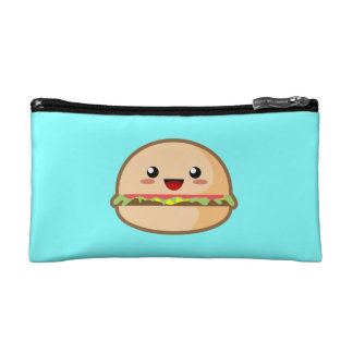 Kawaii Hamburger Cosmetic Bags