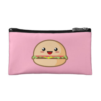 Kawaii Hamburger Cosmetic Bag