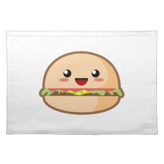 Kawaii Hamburger Cloth Placemat