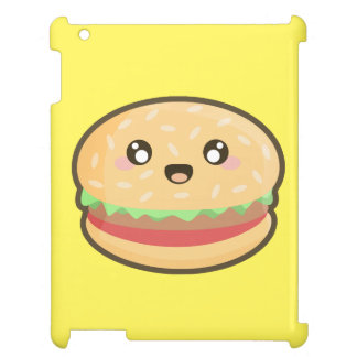 Kawaii hamburger cover for the iPad