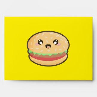 Kawaii hamburger envelope