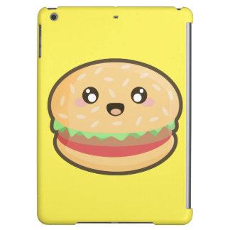Kawaii hamburger iPad air covers