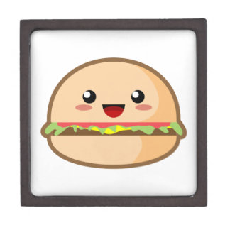 Kawaii Hamburger Jewelry Box