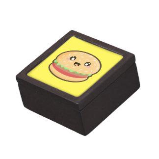 Kawaii hamburger keepsake box