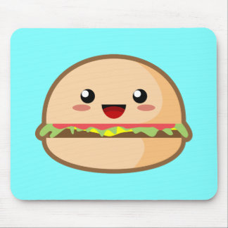 Kawaii Hamburger Mouse Pad