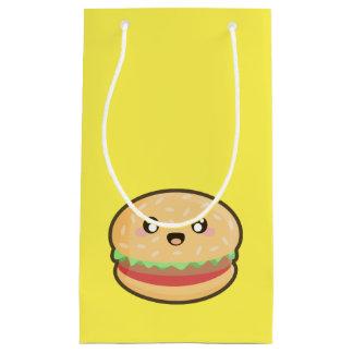 Kawaii hamburger small gift bag
