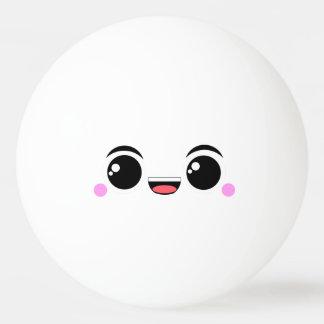 Kawaii Happy Anime Faced Ping-Pong Ball