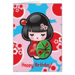 Kawaii Happy Birthday Card