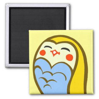 Kawaii Happy Owl Fridge Magnets