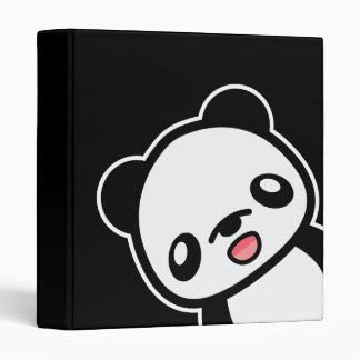 Kawaii Happy Panda Binder
