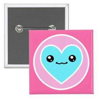 Kawaii Heart Buttons