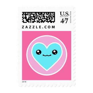 Kawaii Heart Postage