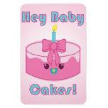 Kawaii Hey Baby Cakes magnet
