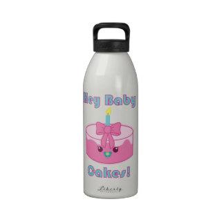 Kawaii Hey Baby Cakes water bottle