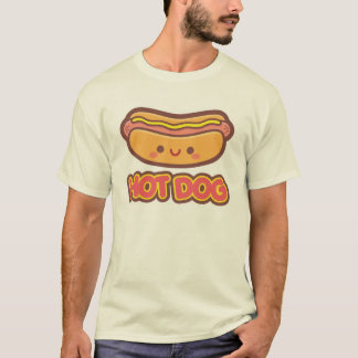 Kawaii Hot Dog T-Shirt