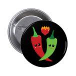 Kawaii Hot Pepper Button
