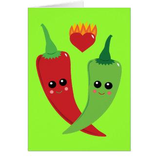 Kawaii Hot Pepper Cards