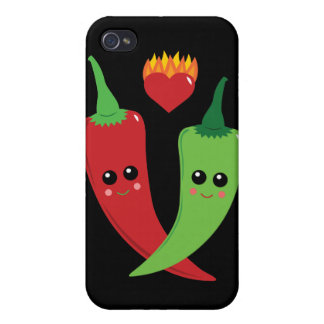 Kawaii Hot Pepper Cover For iPhone 4