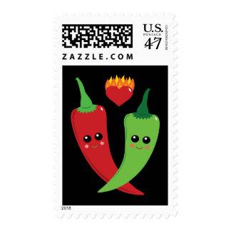 Kawaii Hot Pepper Postage