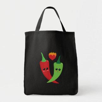 Kawaii Hot Pepper Tote Bag