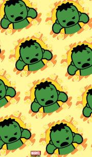 1c5d0bc53 Kawaii Hulk With Marvel Hero Icons Kid s Flip Flops