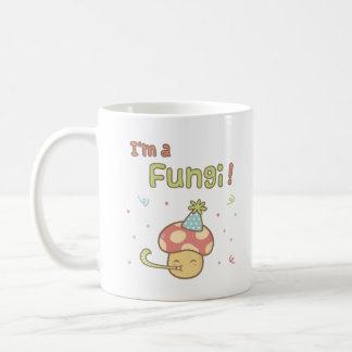 Kawaii I am a Fungi Party Mushroom Pun Humor Coffee Mug