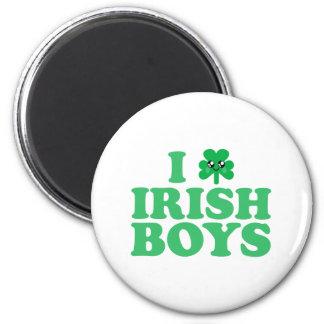 KAWAII I LOVE IRISH BOYS SHAMROCK HEART LUCK IRISH MAGNET