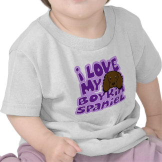 Kawaii I Love My Boykin Spaniel Tee Shirt