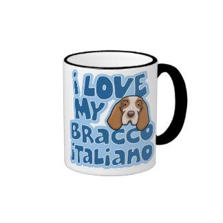 Kawaii I Love My Bracco Italiano Mug