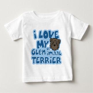 Kawaii I Love My Glen of Imaal Terrier Baby T-Shirt