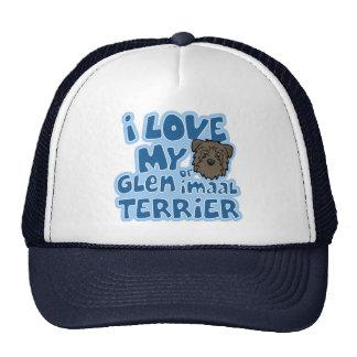 Kawaii I Love My Glen of Imaal Terrier Trucker Hat