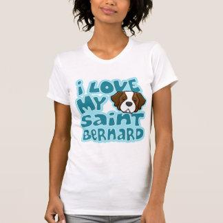 Kawaii I Love My Saint Bernard T-Shirt