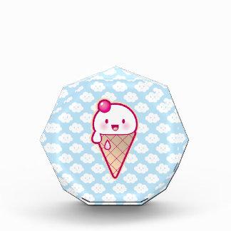 Kawaii Ice Cream Acrylic Award