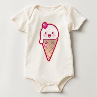 Kawaii Ice Cream Baby Bodysuit