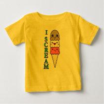 Kawaii Ice Cream Baby T-Shirt