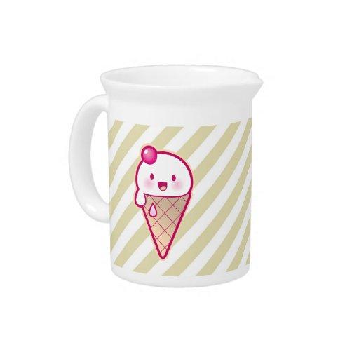 Kawaii Ice Cream Beverage Pitcher