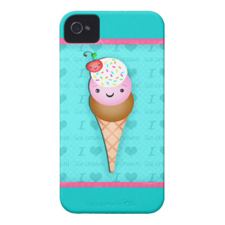 Kawaii Ice Cream BlackBerry Barely There Case Case-Mate iPhone 4 Case