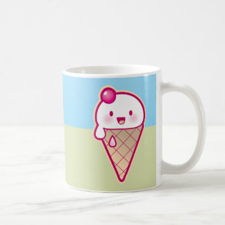Kawaii ice cream coffee mug