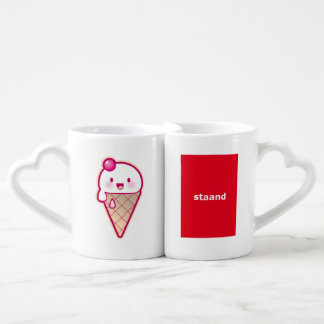Kawaii Ice Cream Coffee Mug Set