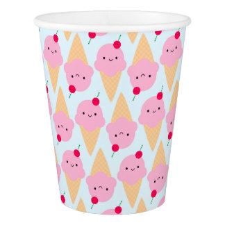 Kawaii Ice Cream Cones Paper Cup