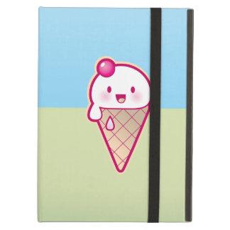 Kawaii ice cream iPad cover