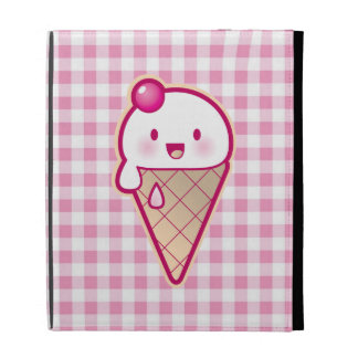 Kawaii Ice Cream iPad Folio Cases