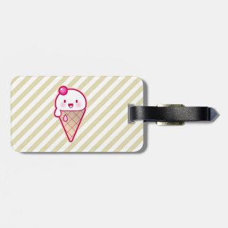 Kawaii Ice Cream Luggage Tags