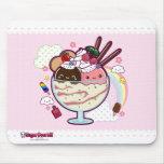 Kawaii Ice Cream Mouse Pad