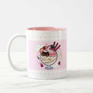Kawaii Ice Cream mug